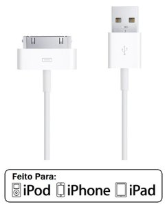 Cabo Usb Para Iphone Ipod Ipad