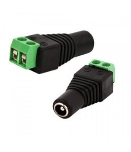 Adaptador Borne P4 2.1mm Femea