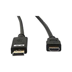 Cabo DisplayPort Macho Para Hdmi Macho 1.50 Metros