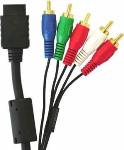 Cabo Vídeo Componente Para Playstation 2 - 1.80 Metros
