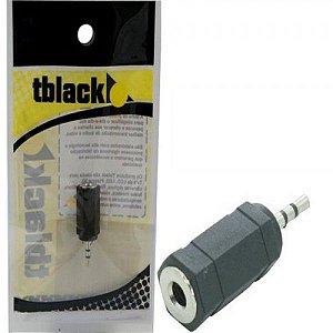 Adaptador Plug P1 Estéreo X Jack P2 Estéreo