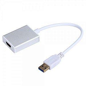Cabo Conversor Usb 3.0 Para Hdmi assista em telas HDMI independentes Lotus