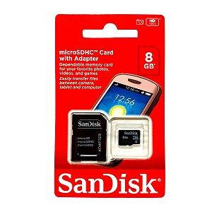 MICRO 8GB SANDISK