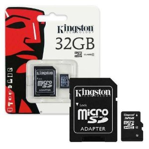 Micro 32GB kingston classe 10
