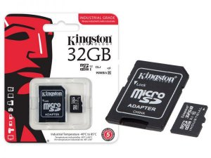 Cartão De Memoria Classe 10 Kingston 32gb Micro Sd 8gb Com Adaptador Sd