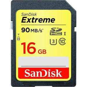 SDHC 16GB SANDISK C10 EXTREME