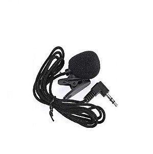 Microfone Lapela Mini P2 Stereo Kp-911