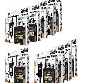 Irig Aplificador Com Efeitos Sonoro Irig Para iPhone, iPod E iPad kit com 10 peças