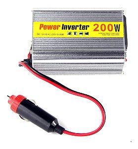 Inversor de energia 12v para 110v  200W