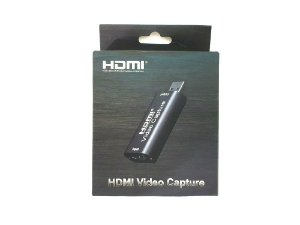 Placa de captura HDMI Black metálico via usb 2.0 4k