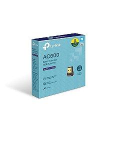 Adaptador Wireless Tplink Usb Archer T2u Nano Ac600 dual band 2.4/5G 433mbp