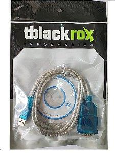 Cabo Conversor Serial USB 1,80m Blindado Roxiline