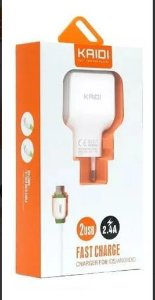 Carregador Kaidi Kd-605 2.4 2usb Iphone-Kd-605