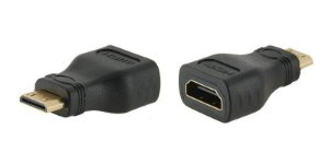 Adaptador Hdmi Fêmea Mini Macho