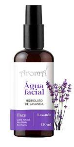 Água Floral Hidrolato Lavanda Spray 120ml - Natural e Vegano