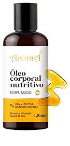 Óleo Corporal Natural Nutritivo Perfumado 120ml