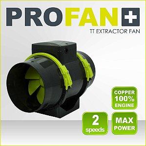 Exaustor Axial Inline PROFAN  opção com Boca de 100mm, 125mm e 150mm - 220V