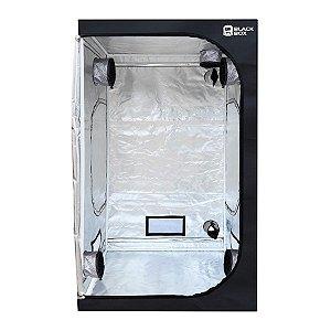 Estufa Cultivo Indoor BLACKBOX 100x100x180cm com Revestimento 600D DIAMOND 98% de Reflexão