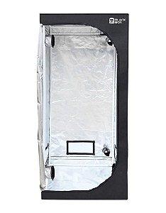 Estufa Cultivo Indoor BLACKBOX 40x40x80cm com Revestimento 600D DIAMOND 98% de Reflexão