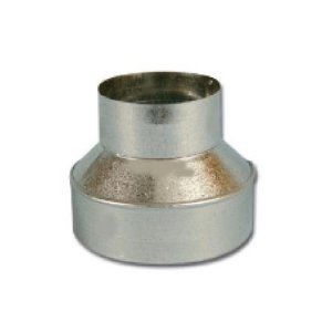 Flange Redução em Aço Galvanizado opção 150/ 100mm e 200/150mm