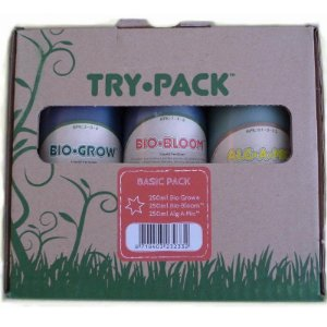 TRYPACK Basic Biobizz 250ml - Kit Composto 3 Partes