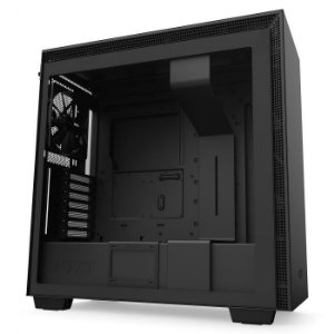 Gabinete Gamer NZXT H710, Mid Tower, com FAN, Lateral em Vidro - CA-H710B-B1