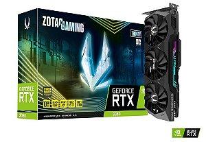Placa de Vídeo GPU GEFORCE RTX 3080 Trinity OC 10GB GDDR6X - 320 Bits ZOTAC - ZT-A30800J-10P