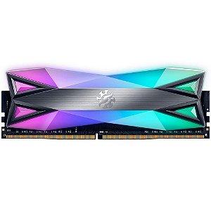 Memória XPG Spectrix D60G, RGB, 8GB (1x8GB), 3200MHz, DDR4, CL16 - AX4U320038G16A-ST60