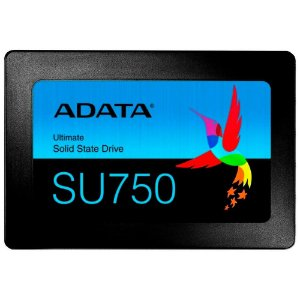 SSD Adata SU750, 512GB, SATA, Leituras: 550Mb/s e Gravações: 520Mb/s - ASU750SS-512GT-C