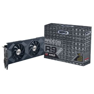 Placa de Vídeo AMD Radeon R9 390 - 8gb DDR5 - 512 Bits XFX R9-390P-8DF6