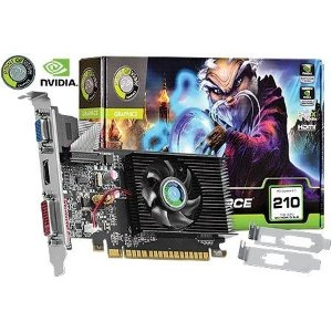 Placa de Vídeo Geforce GT 210 - 1gb DDR3 - 64 Bits Point of View VGA-210-C2-1024