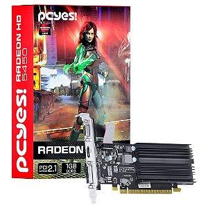 Placa de Vídeo AMD Radeon 5450 - 1gb DDR3 - 64 Bits  Low Profile PCYES