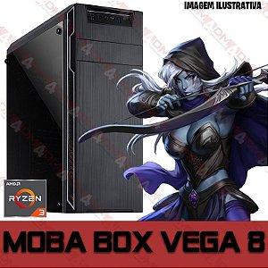 PC Gamer MOBA BOX AMD Ryzen 3 3200G, 8GB DDR4, SSD 240GB, APU RADEON VEGA 8