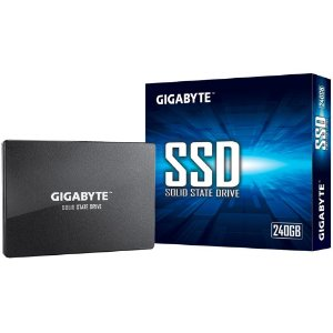 SSD Gigabyte 240GB, SATA, Leitura 500MB/s, Gravação 420MB/s - GP-GSTFS31240GNTD