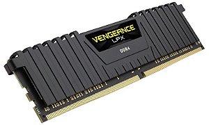 Memória 8gb DDR4 - 2400 Mhz Corsair Vengeance LPX (1X8gb)