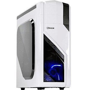 Gabinete ATX Gamer Vinik Eclipse VX Black C/ LED Azul
