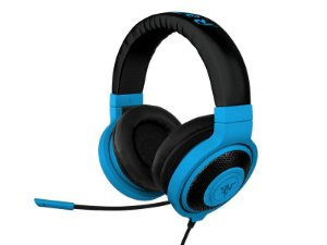 Headphone Razer Kraken Pro Neon Mobile Blue