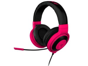 Headphone Razer Kraken Pro Neon Mobile Red