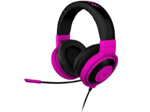 Headphone Razer Kraken Pro Neon Mobile Purple