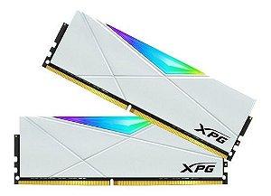 Memória 32GB DDR4 CL16 3600 MHZ ADATA XPG SPECTRIX D50 AX4U360016G18I-DW50 RGB WHITE (2X16GB)