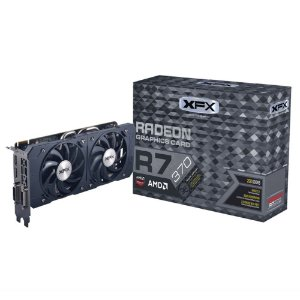 Placa de Vídeo AMD Radeon R7 370 - 2gb DDR5 Double Dissipation 256 Bits XFX R7-370P-2DB5