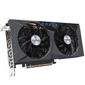 Placa de Vídeo GPU GEFORCE RTX 3060TI EAGLE OC 8GB GDDR6 - 192 BITS GIGABYTE GV-N306TEAGLE LHR OC-8GD