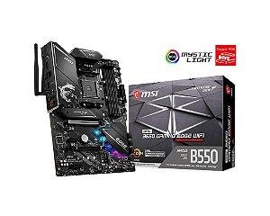 Placa Mãe MSI CHIPSET AMD B550 GAMING EDGE WIFI SOCKET AM4