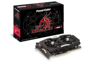 Placa de Vídeo AMD Radeon RX 470 OC Red Dragon 4gb DDR5 - 256 Bits Power Color