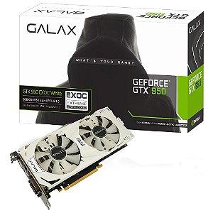 Placa de Vídeo Geforce GTX 950 EX OC 2gb DDR5 - 128 Bits Galax 95NPH8DVE8EW