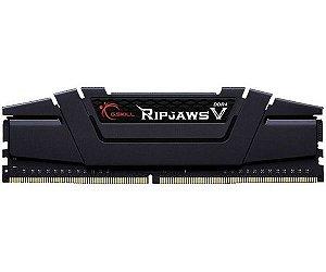 Kit Memória 16gb DDR4 3000 Mhz G.Skill RipJaws V Series (2X8gb)