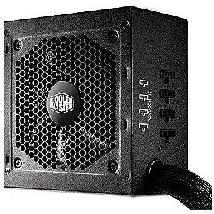 Fonte ATX 750 Watts Reais Modular C/ PFC Ativo Cooler Master G750M 80% Plus Bronze
