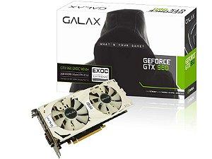 Placa de Vídeo Geforce GTX 960 EX OC WHITE 2gb DDR5 - 128Bits Galax