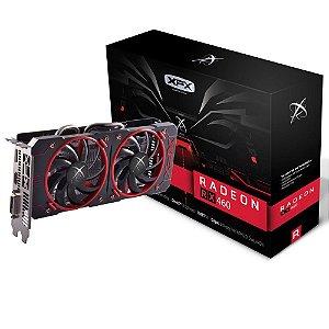 Placa de Vídeo AMD Radeon RX 460 - 4gb DDR5 - 128 Bits XFX RX-460P4DFG5