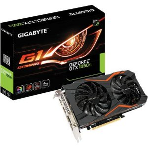 Placa de Vídeo Geforce GTX 1050TI G1 Gaming 4gb DDR5 - 128 Bits Gigabyte GV-N105TG1GAMING-4GD
